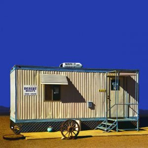 """Desert Realty, Salton City CA - Edition 4 of 9"" - Original Artwork by Ed Freeman"