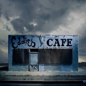 """Eddie's Cafe, Santa Paula CA - Edition 3 of 9"" - Original Artwork by Ed Freeman"