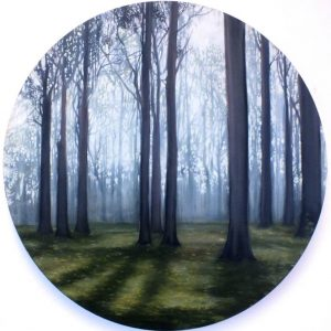 """Enlightened Woods SOLD"" - Open Edition Print by Lara Cobden"