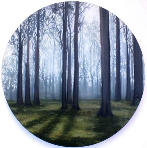 """Enlightened Woods SOLD"" - Open Edition Print by Lara Cobden"