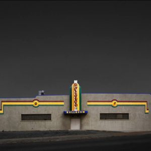 """Fiesta Ballroom, Bakersfield CA - Edition 3 of 9"" - Original Artwork by Ed Freeman"