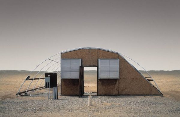 """Greenhouse, Salton City CA - Edition 3 of 9"" - Original Artwork by Ed Freeman"