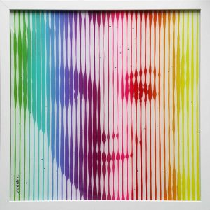 """Marilyn Monroe Rainbow 2"" - Original Artwork by VeeBee VeeBee"