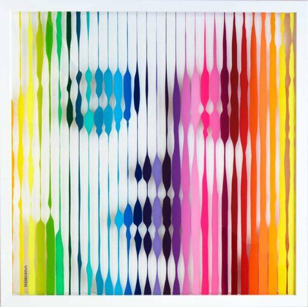 """""""Marilyn ( Rainbow )"""" - Original Artwork by VeeBee VeeBee"""