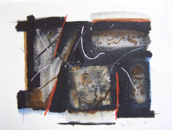 """New Stone Work"" - Original Artwork by Ed Touchette"