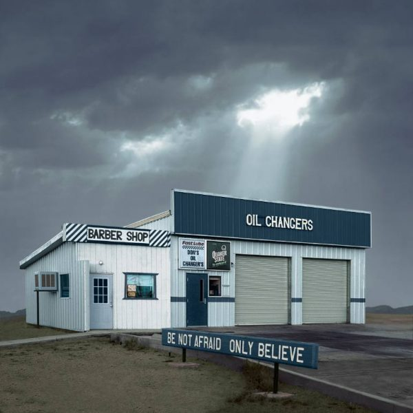 """Oil Changers, Mojave CA - Edition 4 of 9"" - Original Artwork by Ed Freeman"