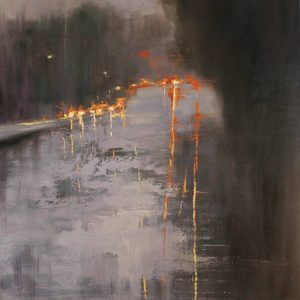 """""""On the Road"""" - Open Edition Print by Chin h Shin"""