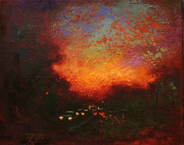 """""""On the Way Home 1"""" - Open Edition Print by Chin h Shin"""