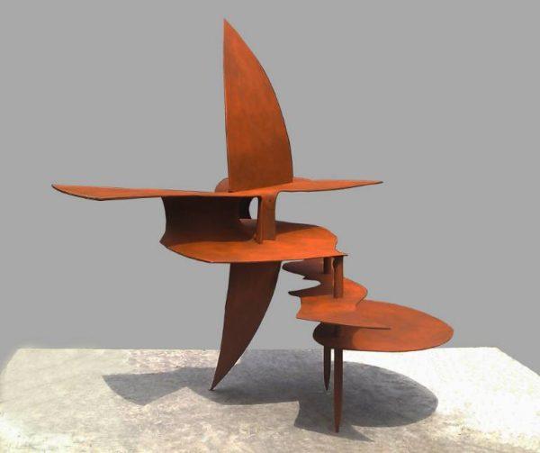 """""""Oval reverie (backside)"""" - Original Artwork by Frans Muhren"""