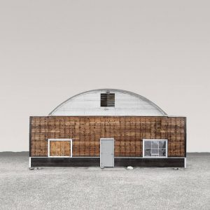 """Quonset Hut, Trona CA - Edition 5 of 9"" - Original Artwork by Ed Freeman"