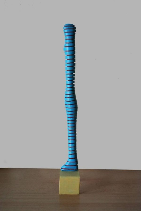 """Standing mummy (on pedestal)"" - Original Artwork by Frans Muhren"