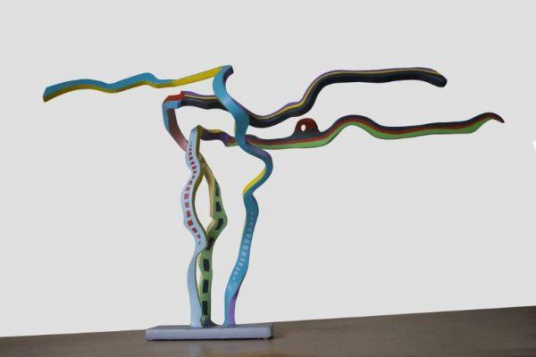 """Streamer 19"" - Original Artwork by Frans Muhren"