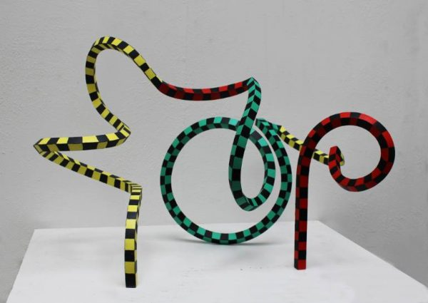 """Streamer 35"" - Original Artwork by Frans Muhren"