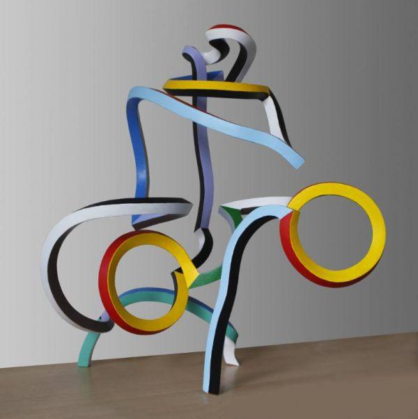 """Streamer 41"" - Original Artwork by Frans Muhren"
