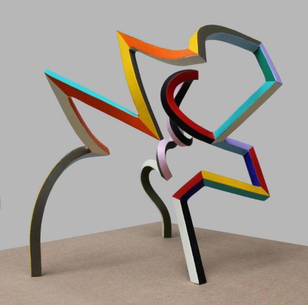 """Streamer 50"" - Original Artwork by Frans Muhren"