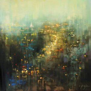 """Urban Landscape"" - Open Edition Print by Chin h Shin"