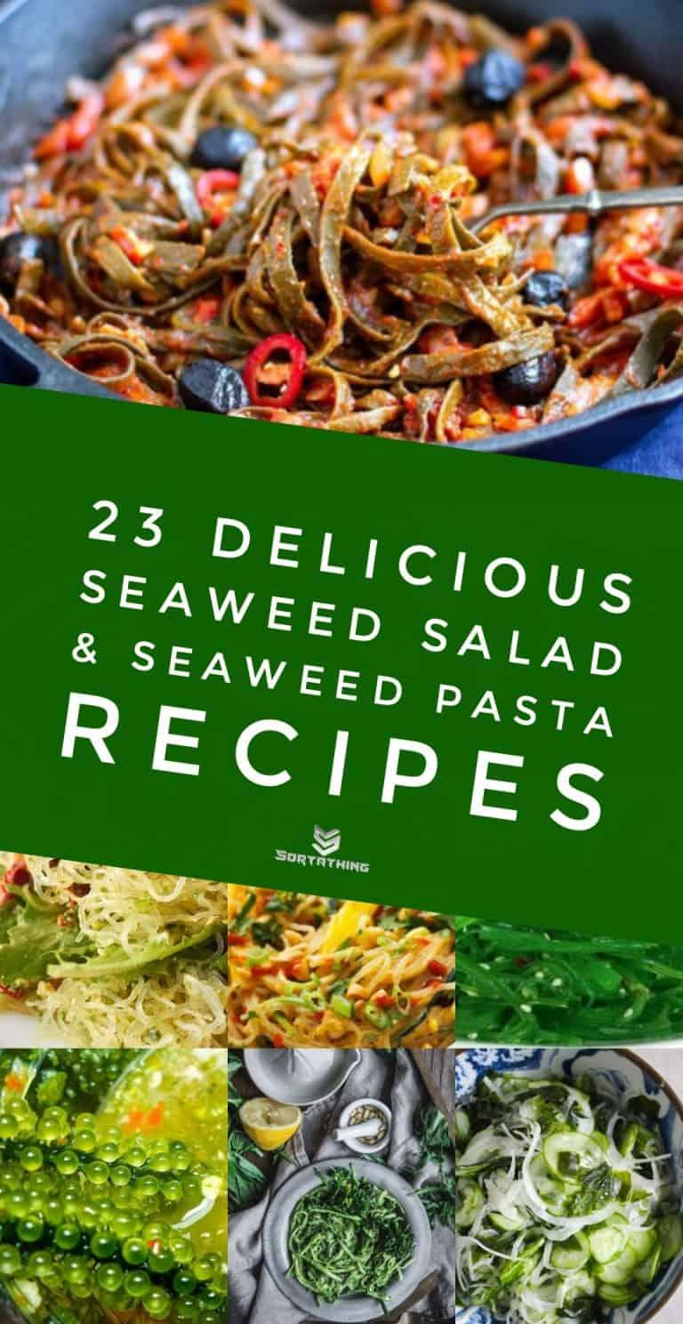 Seaweed Salad, Seaweed Pasta & Kelp Noodle Recipes