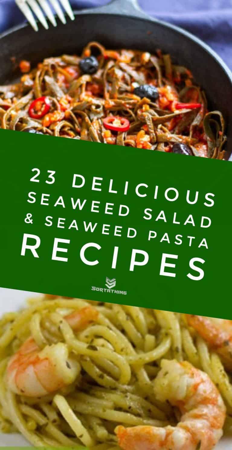 23 Seaweed Salad Pasta Kelp Noodle Recipes Sortathing Food Health