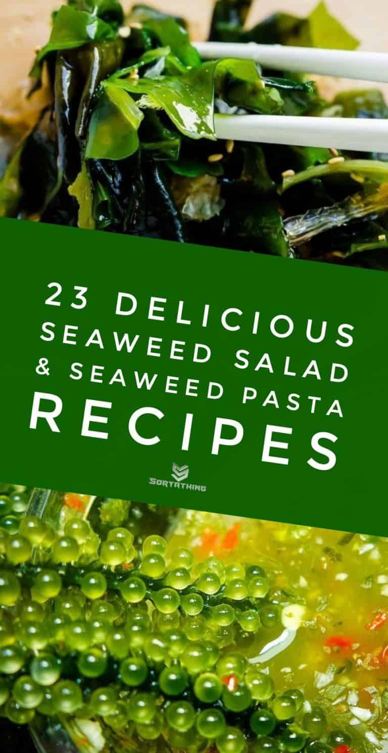 Keto Seaweed Salad Hiyashi Wakame & Sea Grapes Seaweed Salad