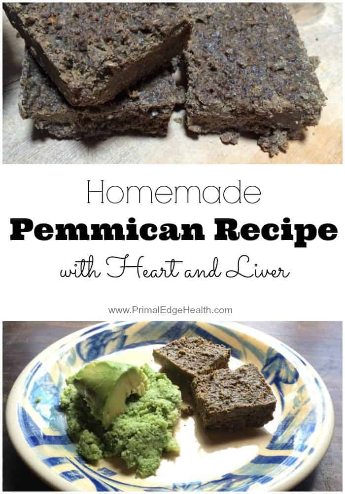 Homemade Pemmican Recipe Heart & Liver