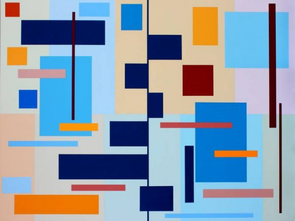 """""""Barchart Composition"""" - Open Edition Print by Sassoon Kosian"""