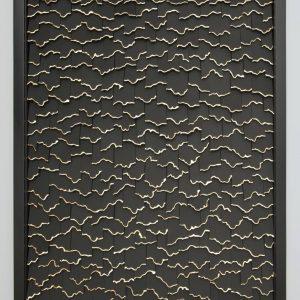 """Black Cascade"" - Original Artwork by Olga Skorokhod"