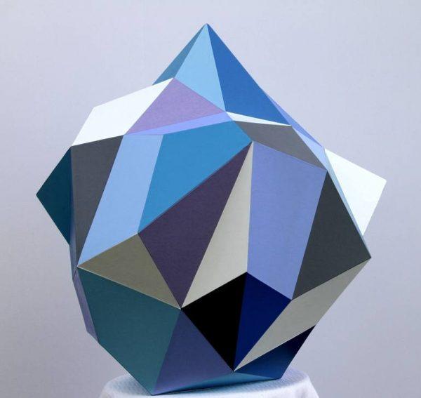 """Blue Diamond"" - Open Edition Print by Sassoon Kosian"