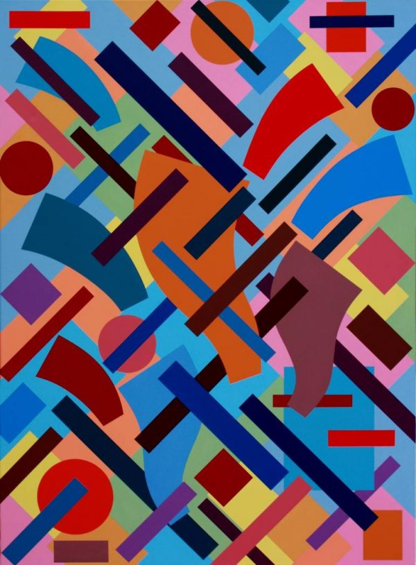"""""""Convergence-Divergence"""" - Open Edition Print by Sassoon Kosian"""