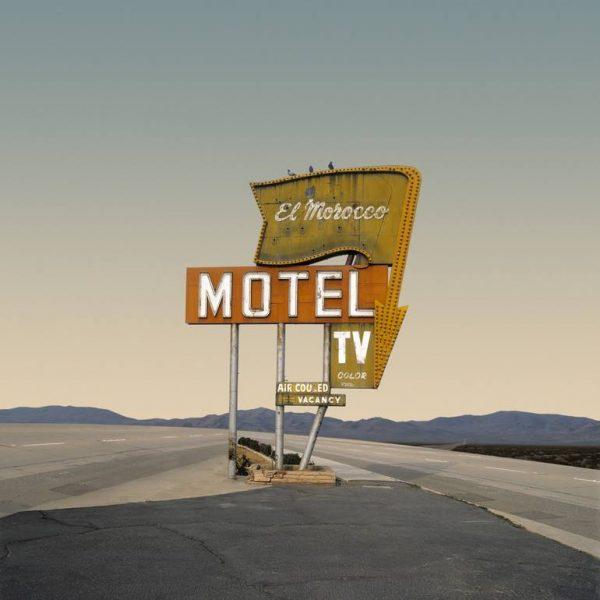 """""""El Moroco Motel, Bakersfield CA - Edition 9 of 9"""" - Original Artwork by Ed Freeman"""