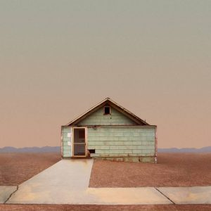 """Plain House, Trona, CA - Limited Edition of 50"" - Original Artwork by Ed Freeman"