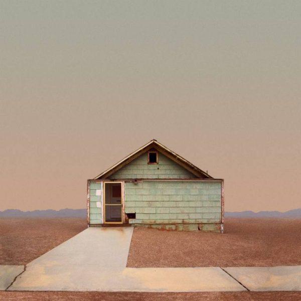 """Plain House, Trona, CA - Limited Edition of 50"" - Original Artwork by Ed Freeman"