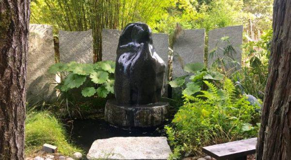 """""""""""The Embrace"""" - Water Sculpture"""" - Original Artwork by CHRISTIANSEN - ARNER"""