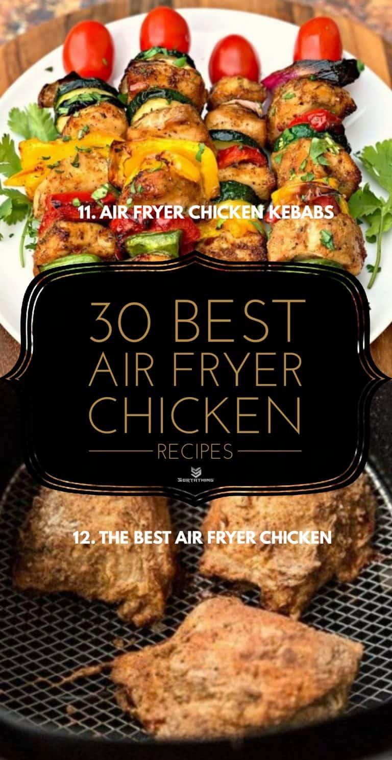 Air Fryer Chicken Kebabs