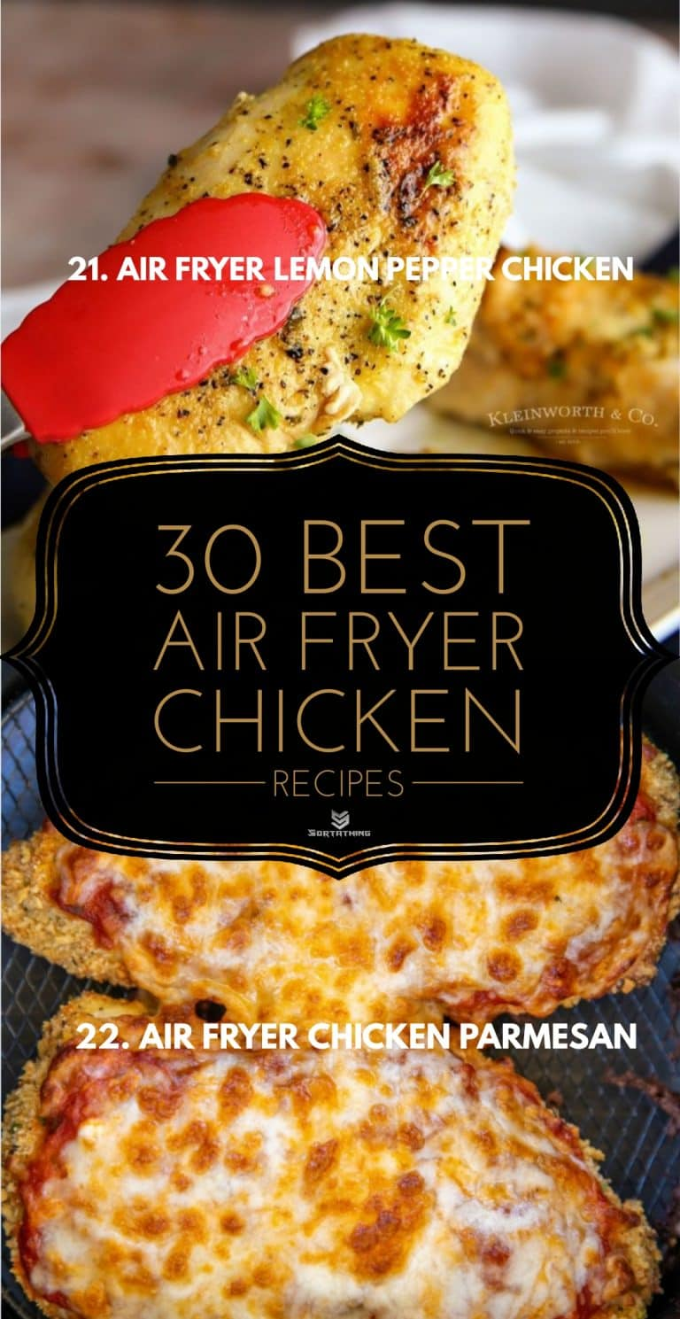 Air Fryer Lemon Pepper Chicken