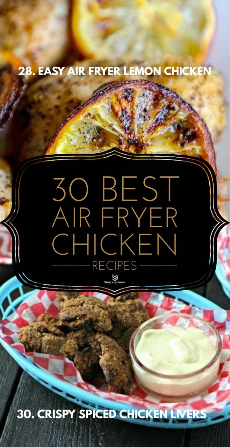 Easy Air Fryer Lemon Chicken