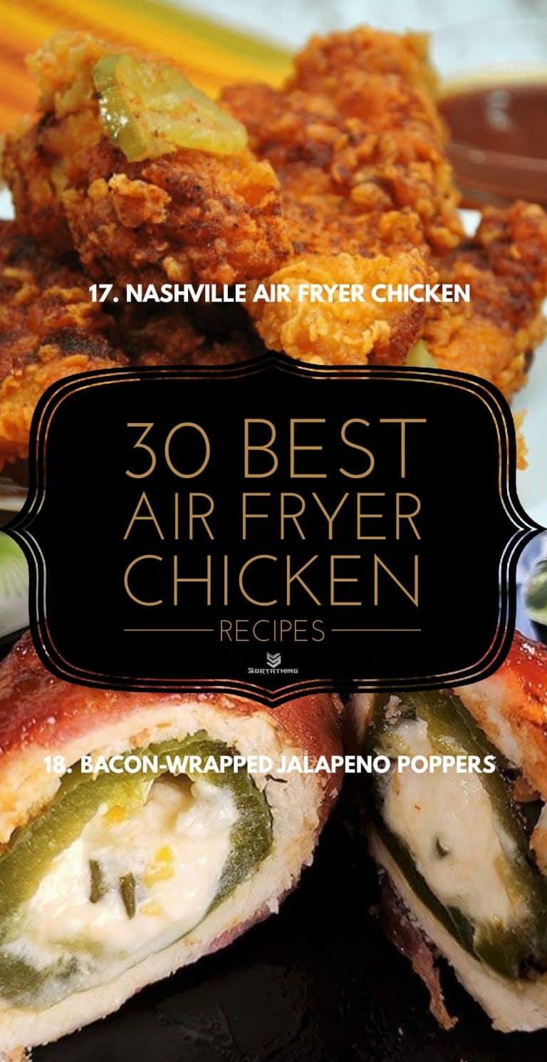 Nashville Air Fryer Chicken