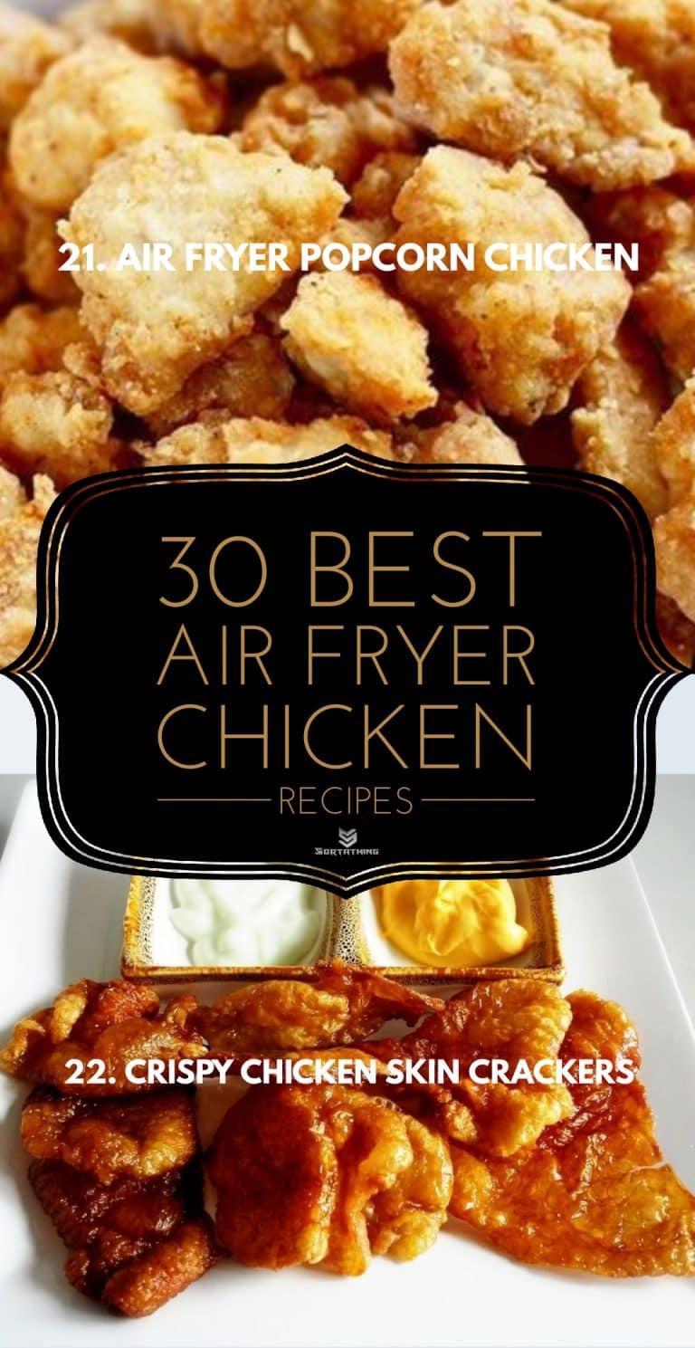 Air Fryer Popcorn Chicken