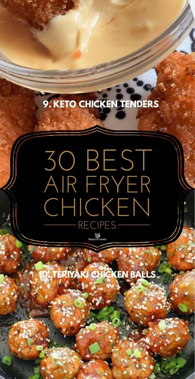 Keto Air Fryer Chicken Tenders