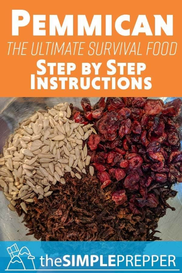 Step-by-step Pemmican Instructions from Simple Prepper