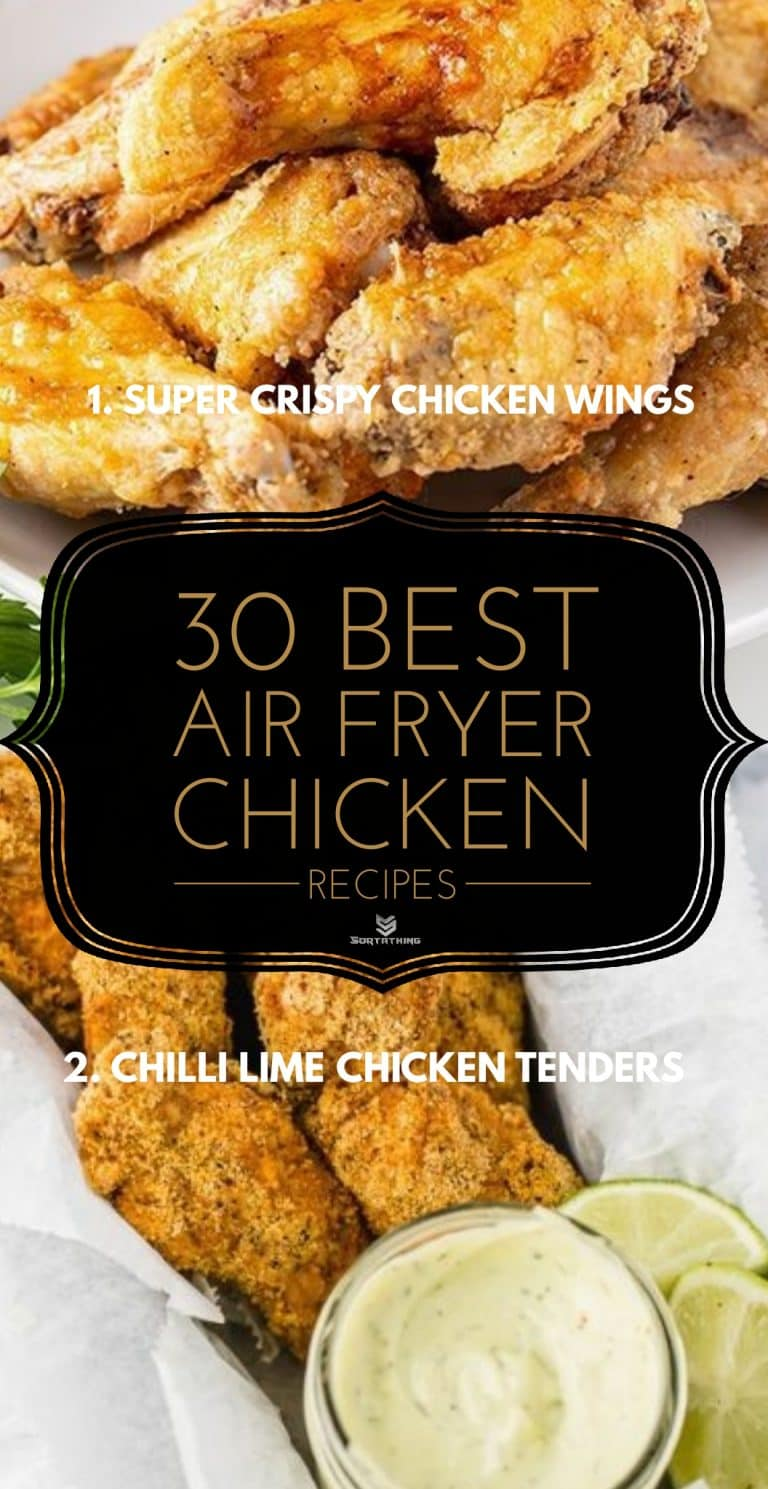 Super crispy air fryer chicken wings