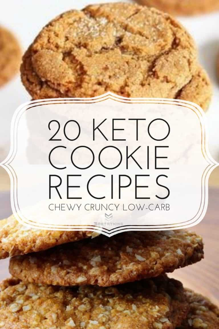 Keto Gingersnap Cookies & Breakfast Coconut Cookies