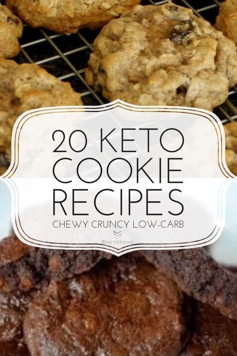 Keto Vanilla Cinnamon Cookies & Fudge Brownie Cookies