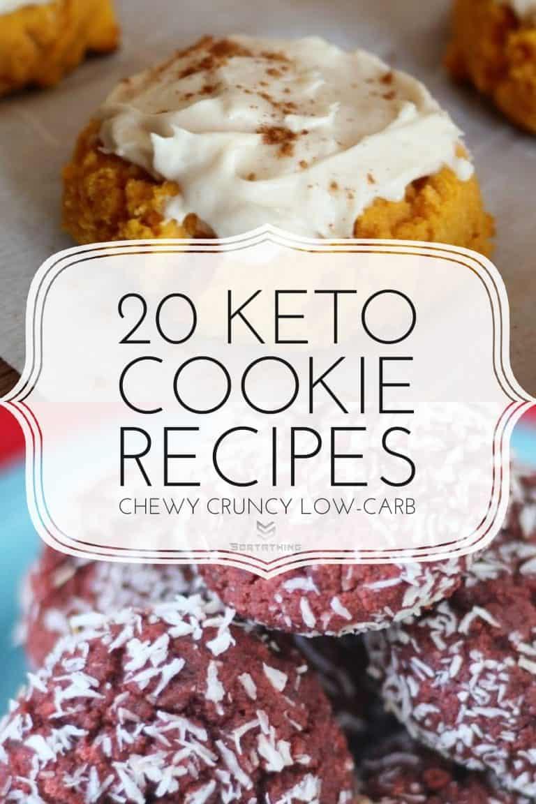 Keto Pumpkin Cookies & Keto Red Velvet Cookies