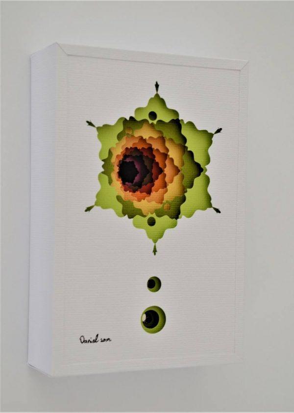 """Jupiter's Moons"" - Original Artwork by Daniel A du Preez"