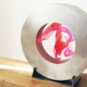 """""""La Pausada Belleza del Movimiento Acuático, S2"""" - Original Artwork by Violeta McGuire"""