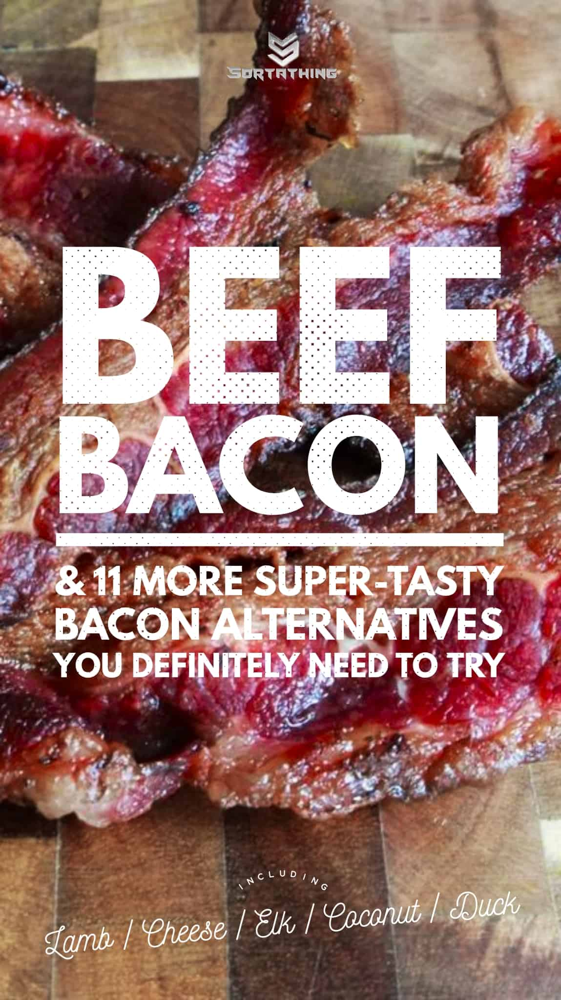 beef bacon substitute
