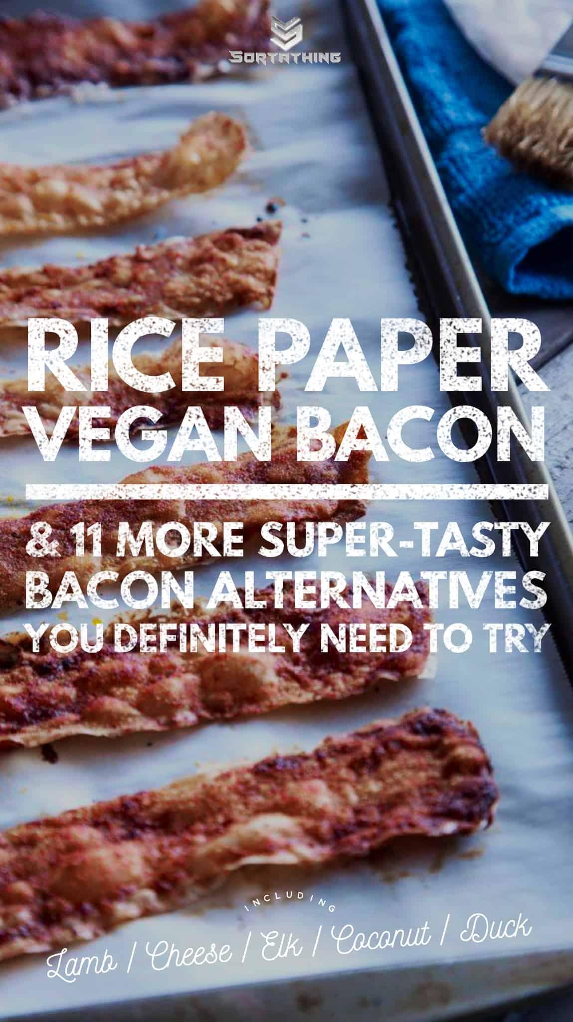 rice paper vegan bacon