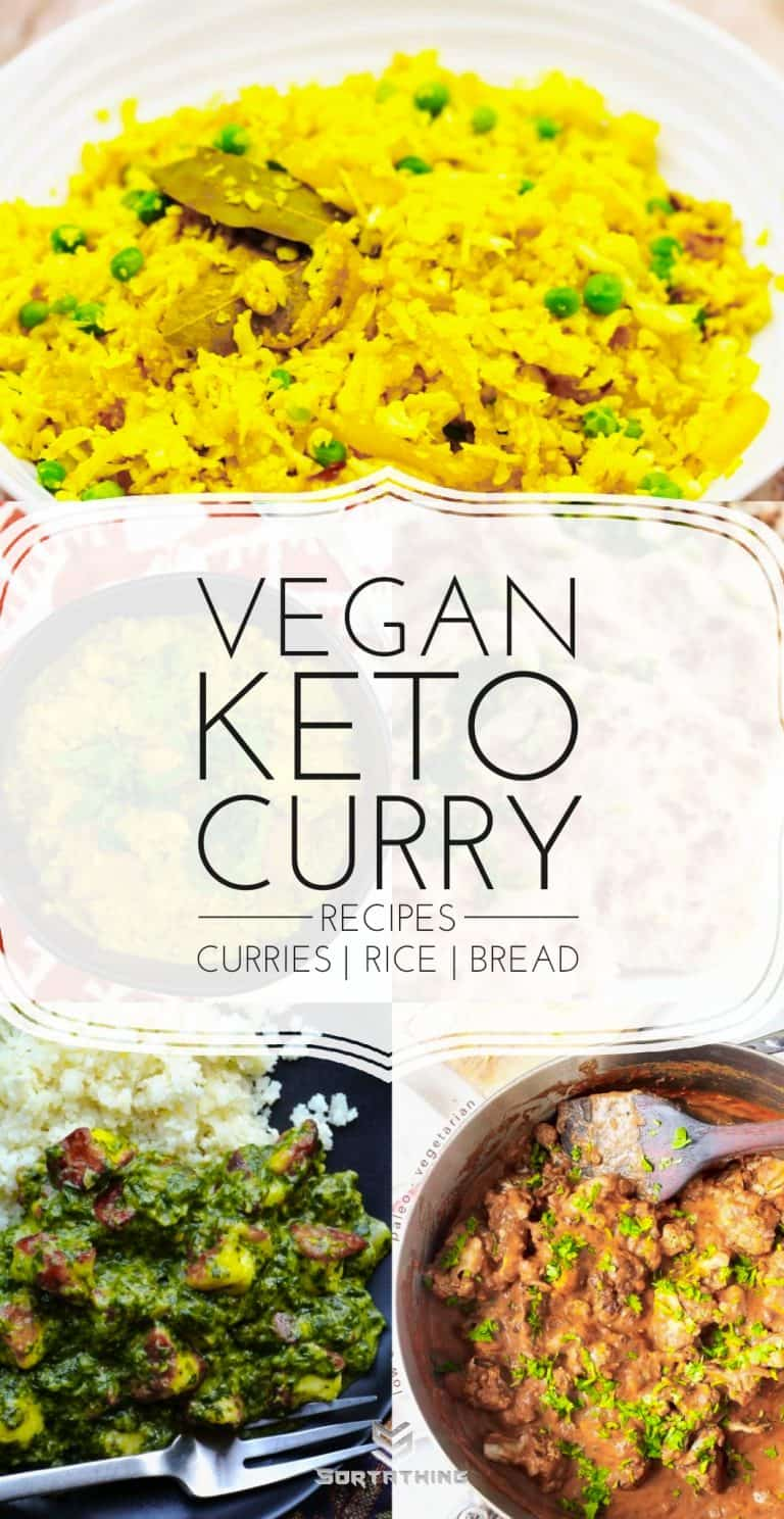 Vegan Keto Curry Recipes