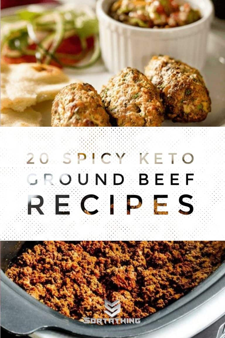 Keto Mint & Chili Kebabs & Low-Carb Spicy Ground Beef Taco Mix
