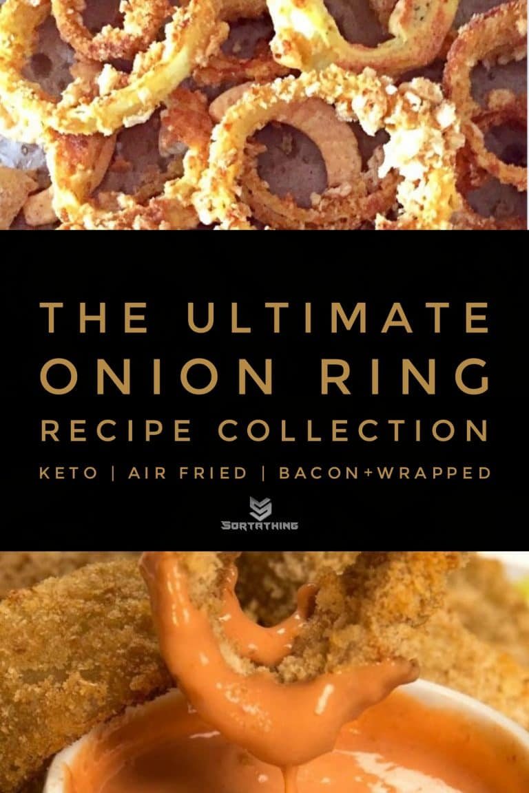 Chicharon Onion Rings & Oven-Baked Onion Rings